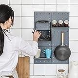 Regal vielseitig Klappregal für Küche Bad Schlafzimmer
