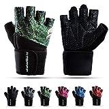 Fitgriff® Fitness Handschuhe V2, Trainingshandschuhe, Sporthandschuhe für Damen und Herren,...