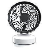 CSL - Tischventilator Ventilator mit Standfuß - Leises Betriebsgeräusch - nur max. 45dB - Ein...