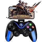 QIYUE Mobile Gamepad-Controller-Tasten Zugeordnet Schießen Spiel Handle mehr Kampf Racing Game 4-6 Zoll S Phone - Direct Play (Color : Blue)