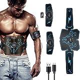 SXZZ Abs Trainer Muskelstimulator, Muskel-Toner, Bauchmuskel-Gürtel EMS Abs Trainer Body Fitness...