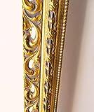 Artecentro Spiegel, vergoldet, klassisch, perforiert, aus Gold mit Blattgold für Barock,...