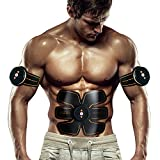 Bauchmuskeltrainer Elektrisch Elektrostimulator Muskel EMS-Training Mann/Frauen Massage-gürtel...