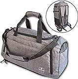 Bearformance® Ultimate Sportbag - Sporttasche mit Schuhfach & Nassfach mit Rucksackfunktion für...