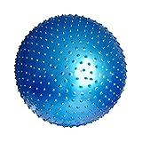 Liuyong Sport Yoga Kugelschreiber Fitness Gym Balance Übung Pilates Übung Spiny Massage Ball 55Cm