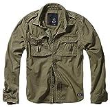 Brandit Vintage Shirt Longsleeve Oliv 3XL