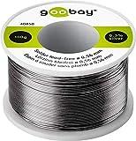 Goobay 40850 Lötzinn bleifrei; ø 0, 56 mm, 100 g umweltfreundliches Markenlötzinn mit einem...