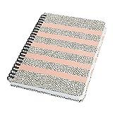 SIGEL JN600 Spiralblock Notizblock Bullet Journal Jolie, ca. A5, dot-Lineatur, 120 Seiten, rosa/weiß, für Frauen und Mädchen - weitere Modelle