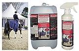 5,5 Liter CleanPrince Pferdedeckenimprägnierung Pferdedecken Imprägnierung Imprägniermittel...