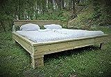 Bett'Doppel t Träger' Industrial 180x200 handmade