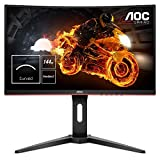 AOC Gaming C24G1 59,9 cm (23,6 Zoll) Curved Monitor (FHD, HDMI, 1ms Reaktionszeit, DisplayPort, 144...