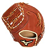 Mizuno Pro Select Baseballhandschuh Serie, Pro Select GPS1-300FBM Fist Base Mitts, Brown, Brown 1st...