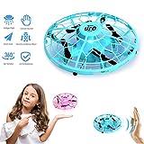 JCWL Mini-Drohnen für Kinder, handgesteuerte Fliegende Kugel - UFO-Drohne mit LED-Licht, 360 °...