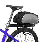 Lixada 13L multifunktionale Fahrrad Tasche Pannier Rücksitz Tasche Handtasche Umhängetasche(ohne...