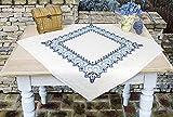 Kamaca Stickpackung Tischdecke Ornamente Kreuzstich vorgezeichnet aus Baumwolle Stickset mit...
