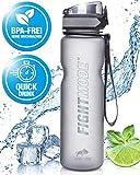 weletix Trinkflasche 1L | auslaufsichere Wasserflasche | Sportflasche für Fahrrad, Camping,...
