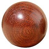 Monland 6 Cm Holz Stress Baoding Ball Gesundheits üBung Hand Ball Finger Massage Chinesische...
