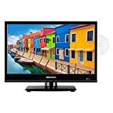 MEDION E11941 47 cm (18,5 Zoll) Fernseher (Triple Tuner, DVB-T2, integrierter DVD-Player, CI+,...