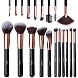 Make Up Pinsel Anjou Professionelles Schminkpinsel Set 20pcs Foundation Blending Erröten Eyeliner...