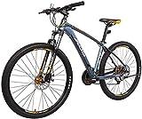 27,5 Zoll Mountainbike Damen, Alurahmen Hardtail Berg Fahrrad mit Doppelscheibenbremse, 27 Gang MTB...