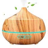 Aroma Diffuser, INSMART 400ml Luftbefeuchter Ultraschall Duftlampe, Ultra Leise BPA-Free Öl...