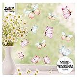 Wandtattoo Loft Fensterbild Frühling Ostern Schmetterlinge 25 STK. Im Set frühlingshafte...