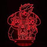 Generic Japanisches Manga Animekarikaturkind führte komisches Licht des Induktionslichtnachtlichtes...