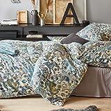 Irisette Interlock Jersey Bettwäsche Cora 8251-80 1 Bettbezug 155 x 220 cm + 1 Kissenbezug 80 x 80 cm