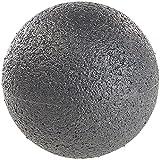 newgen medicals Massageball: Massage-Ball und Faszien-Trainer für Rücken & Co, Ø 8 cm, schwarz...