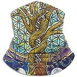 RP Amazing Neck Warmer,Baum des Lebens Mondbaum Blätter Liebe Hals Gamasche, Mode Maske...