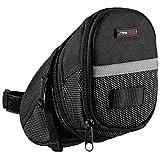 Ultrasport Satteltasche fürs Fahrrad, wasserdicht und kompakt / Fahrradsattelfach mit Stauraum für...