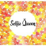 Pitaara Box Selfie Queen Peel & Stick Vinyl Wall Sticker 18.9 X 18Inch