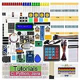 Freenove RFID Starter Kit für Raspberry Pi 4 B 3 B+ 400, 423-Seitige Detaillierte Tutorials, Python C Java Code, 204 Artikel, 53 Projekte, Lötfreies Steckbrett