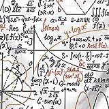 Mathematische Formel Muster Tapisserie Wandbehang Indian Wand-Dekor-Hippie-Tapisserien Wurfblatt...