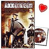 Das große Buch für Akkordeon - Schule für Piano-Akkordeon von Herbert Kraus mit CD und bunter...