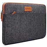 KIZUNA Tablet Tasche 10 Zoll Wasserdicht Laptop Hülle Sleeve Notebook Bag Für 9.7' 10.5' 11' iPad Pro Air/10.2' iPad/10 Surface Go/10.5' Samsung Galaxy Tab/10.8' Huawei MediaPad M5 Pro/Lenovo, Braun