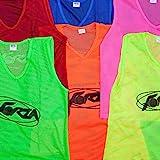 FORZA Training Lätzchen (5er-Set) – Multifarbige Training Westen – eine Reihe von Farben und...
