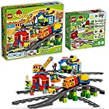 HHO Lego DUPLO Big-Eisenbahn-Set mit Schienenerweiterung 10508 + 10882