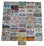 USA_Auswahl_von_Fahrzeugschildern 50 Kennzeichen + Washington DC Set // Original USA Nummernschilder Alle Staaten Set Von Alabama bis Wyoming // Auto - Schilder, US License Plates