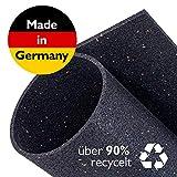 Zuschneidbare Antivibrationsmatte für Waschmaschinen, Trockner u.v.m.   Größe 60cmx60cmx6mm  ...