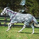 Amigo Bug Rug Pony Vamoose Fly Rug 4ft6 Horse Print Purple Pink