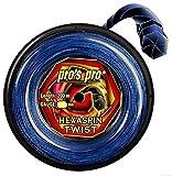 Pro Tennissaite Hexaspin Twist 1.25mm mit Spin 200m blau