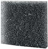 Hobby 20481 Filterschaum, schwarz grob, 50 x 50 x 5 cm, ppi 10