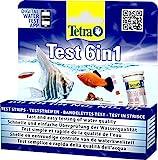Tetra Test 6in1 - Wassertest für das Aquarium, schnelle und einfache Überprüfung der...