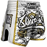8 Weapons Shorts, Super Mesh, Samurai, Gold (XXL)