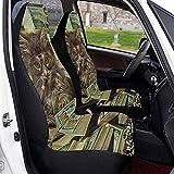 Autositzbezüge Money Cat Smoking Funny Kitty Vordersitzbezüge Satteldecke Sitze Schutzbezüge Für...