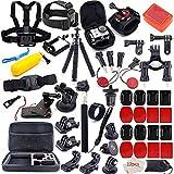 MOUNTDOG Action-Kamera-Zubehör-Set für GoPro Hero 7 6 5 4 3 + 3 2 1 Hero Session 5, schwarz...