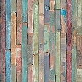 d-c-fix, Folie, deco, Design Rio buntes Holz, selbstklebend, 67,5 x 200 cm