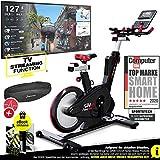 Sportstech Elite Indoor Cycle Bike – Deutsche Qualitätsmarke - Video Events & Multiplayer APP,...