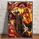 ganlanshu Anime Plakate und Drucke Leinwand Malerei Wohnzimmer Filmdekoration Künstler...